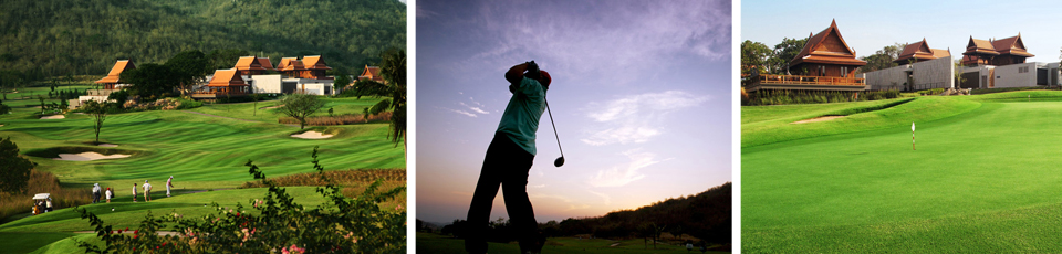 Photos of golf courses visited on golf tour with Amazing Thailand Budget Golf Tours