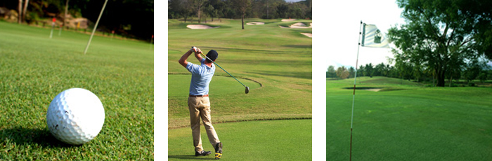 Photos of club houses and golf courses visited on golfing tour with Amazing Thailand Golf Tour Thailand Sydney